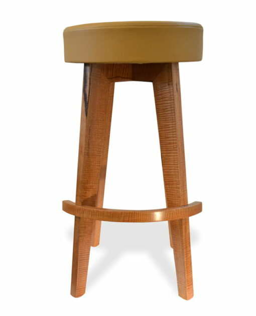 Round Top Bar Stool Fine Art
