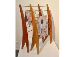 Timber Magazine Racks Fine Art