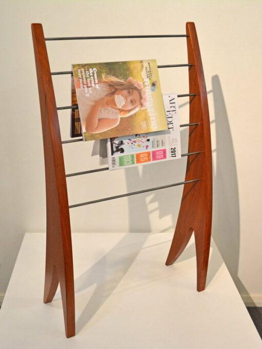 Timber Magazine Racks Sheoak