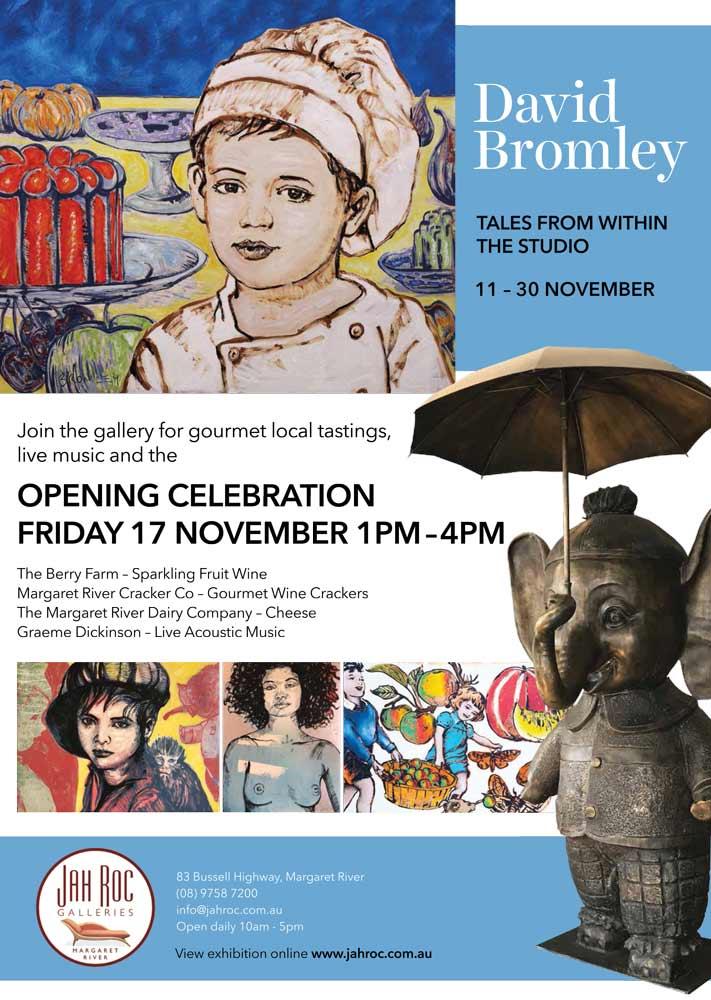 David Bromley Exhibition Poster Website