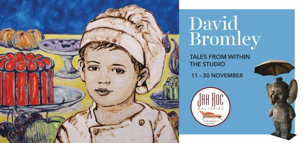 David Bromley exhibition invitation front page website 1024x486