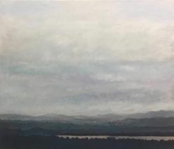 David Giles   Lake And Mountains Fine Art