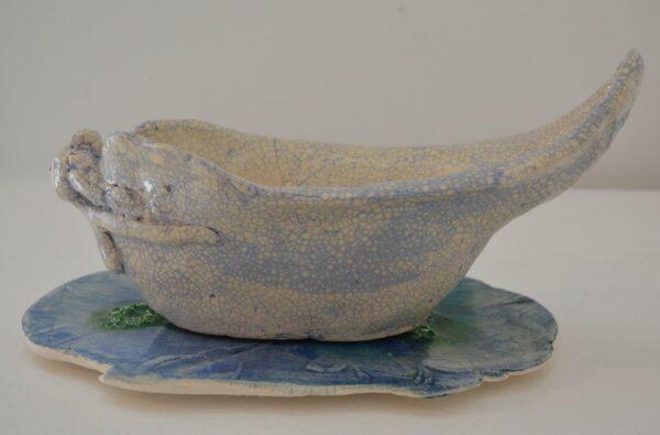 Lauren Rudd Metamorphisis The Mask Sails Away Sculpture 1