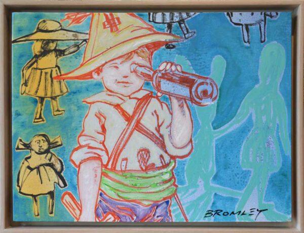 Dbr265 David Bromley Homage To Blackman Painting
