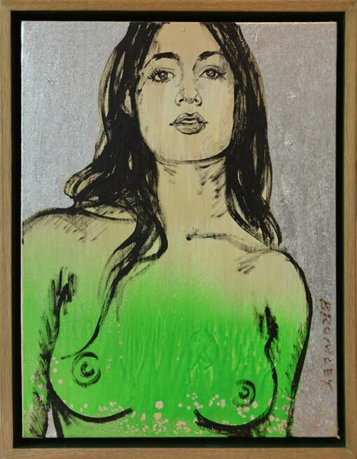 Dbr267 David Bromley Lauren Painting