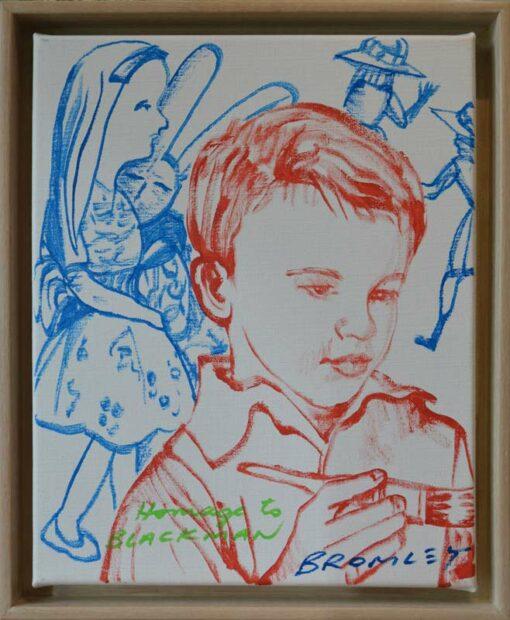 Dbr270 David Bromley Homage To Blackman Vi Painting