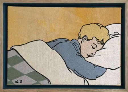 Dbr273 David Bromley In A Dream Embroidery