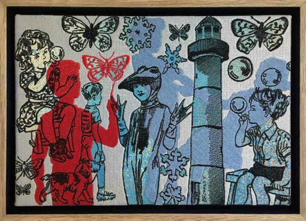 Dbr275 David Bromley Shadow Play Embroidery