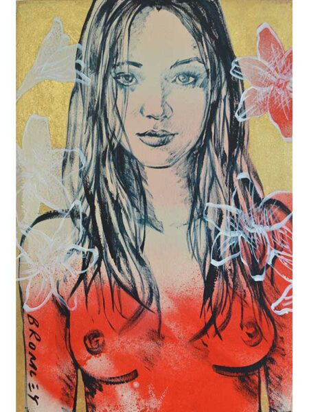 Dbr278 David Bromley Rosie Painting