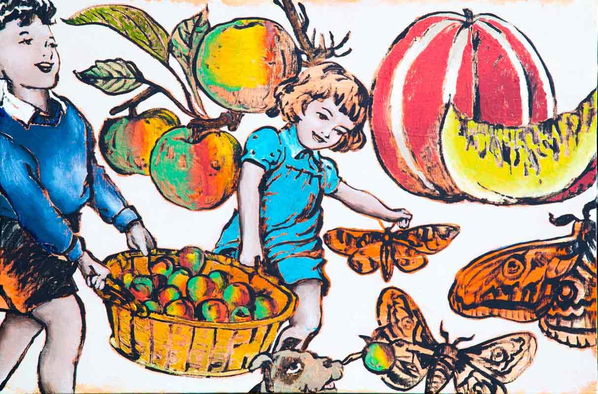 David Bromley A Fruitfull Basket Artwork 1