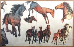 David Bromley   Big Horses II Fine Art