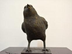 David Bromley Bird 2 Front Sculpture 247x186