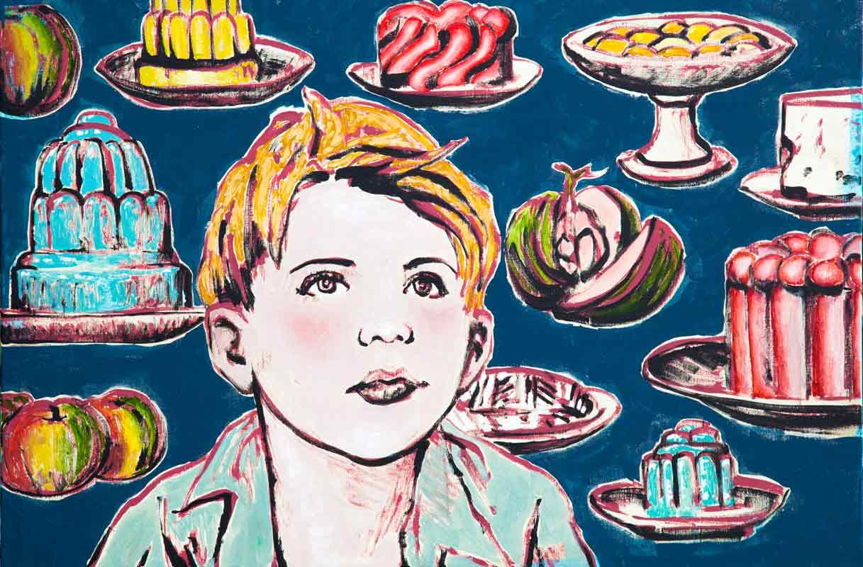 David Bromley Daydreaming Artwork