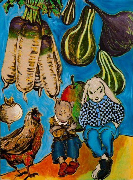 David Bromley In A Dream Artwork
