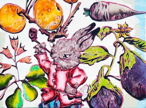 David Bromley The Pied Piper Artwork