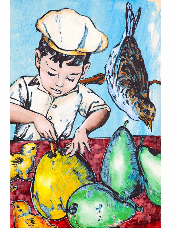 David Bromley The Young Chef Ii Artwork