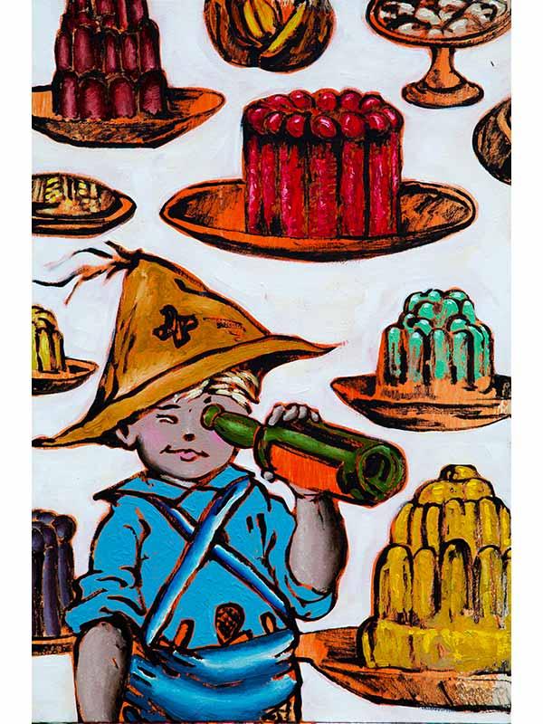 David Bromley Treasure Hunters Food Artwork