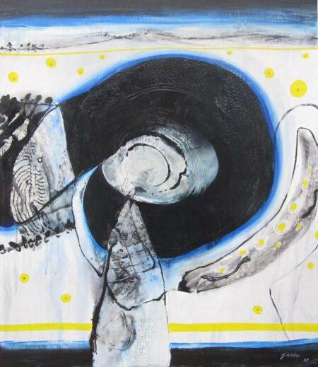 Geoffrey Wake Fish Eggs Painting