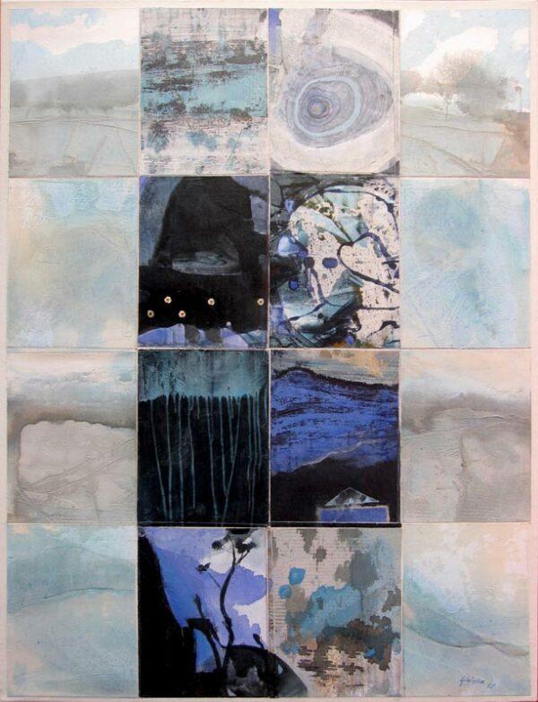 Geoffrey Wake Zones Of Blackrock Painting