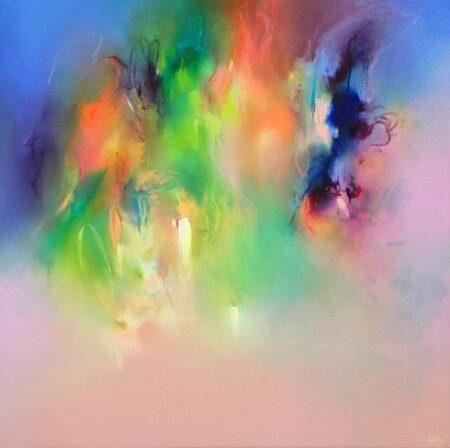 Liv Vardy Opal Painting