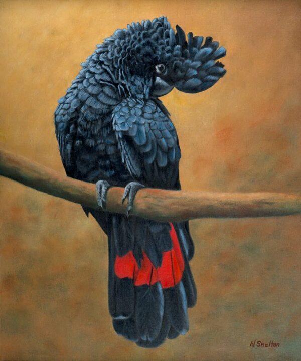 Nicky Shelton Jacko Painting