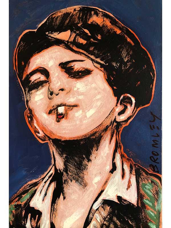 Smoking Boy