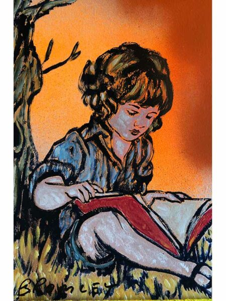 The Reader David Bromley Painting