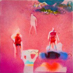 Becky Blair   Figure Study In Pink Fine Art