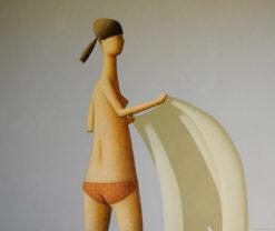 Craig Parnaby   Big Girl with Towel II Fine Art