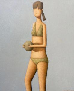 Craig Parnaby   New Girl Beach IV Fine Art
