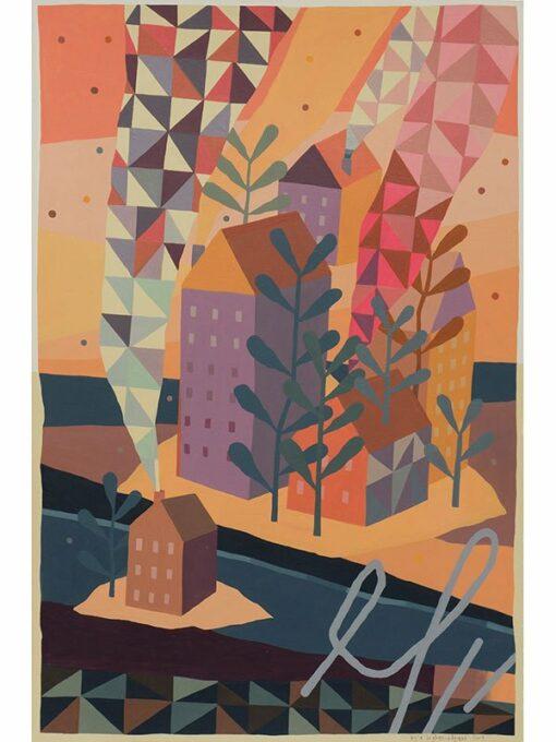 Kyle Hughes Odgers Rottnest Perth Painting