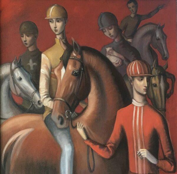 Lauren Wilhelm Oh Sienna Painting
