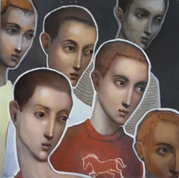 Lauren Wilhelm Oh Spectators Painting