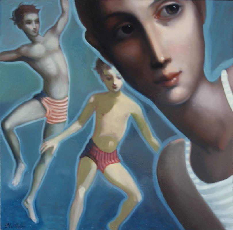 Lauren Wilhelm Salmon Bay Ii Painting