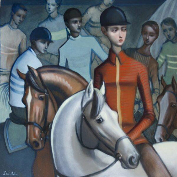 Lauren Wilhelm Sienna Ii Painting