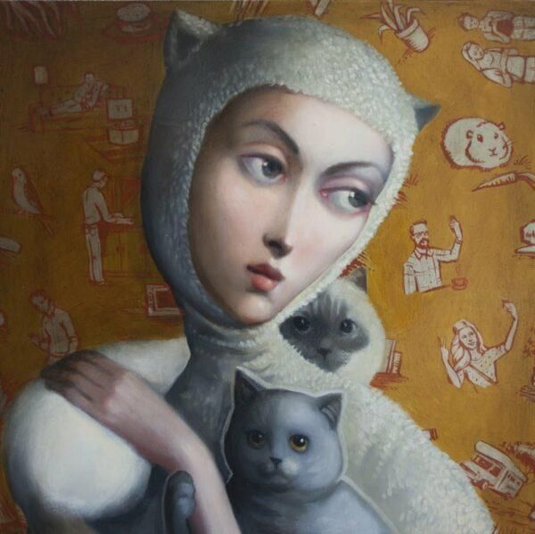 Lauren Wilhelm Soft Reality Painting