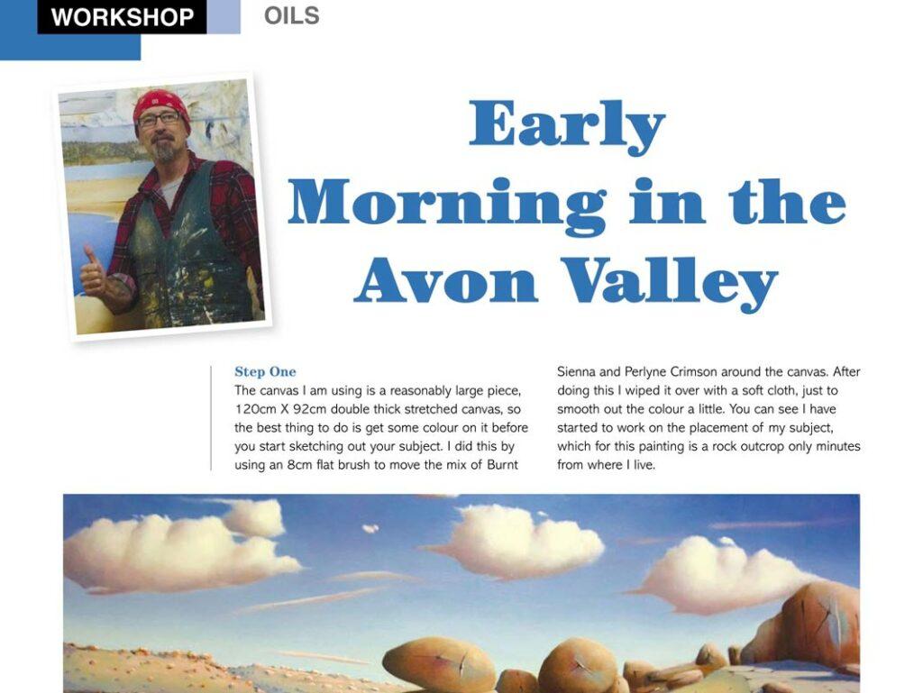 Shane Moad Creative Artist Workshop Web Banner