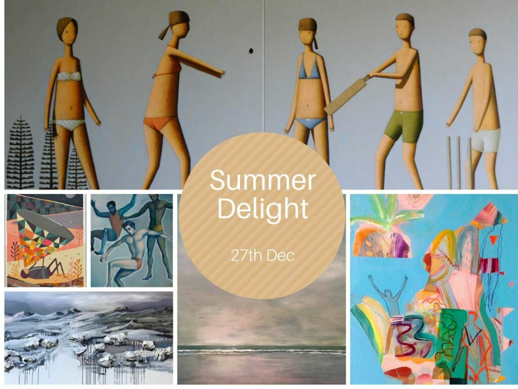 Summer Delight   Mixed Christmas Exhibition Fine Art