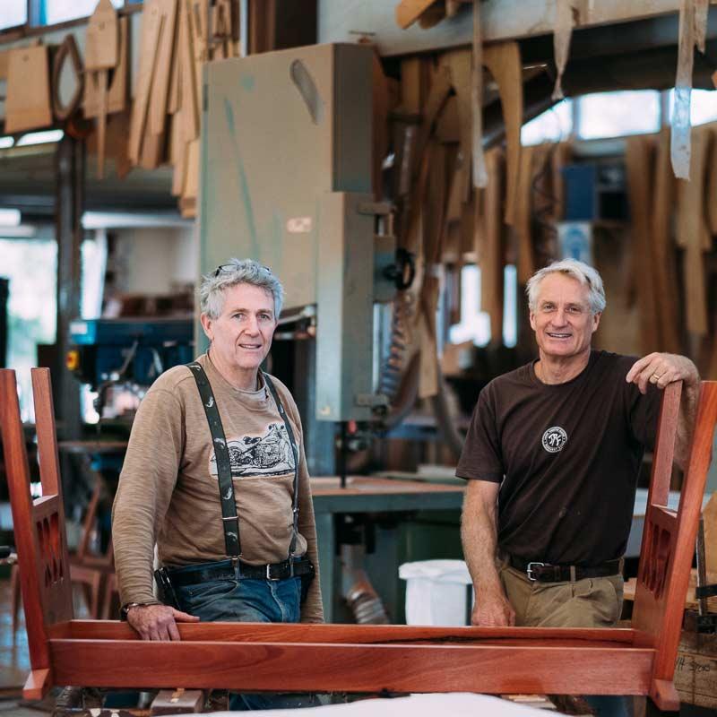 Gary Bennett David Paris Jahroc Furniture Makers