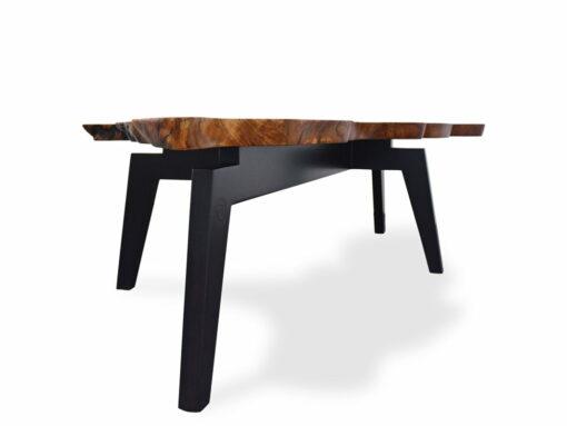 The Cove Burl Coffee Table Fine Art