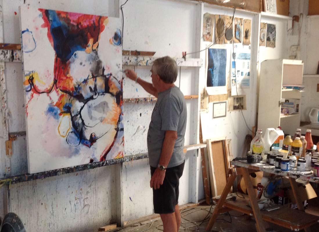 Geoffrey Wake Artist Studio 2
