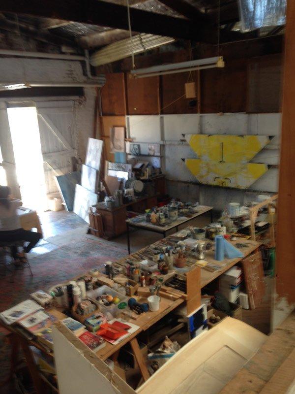 Geoffrey Wake Artist Studio