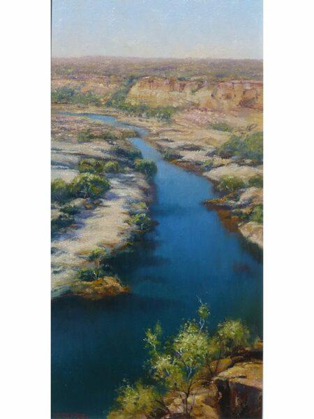 Kerry Nobbs Murchison River Kalbarri Painting