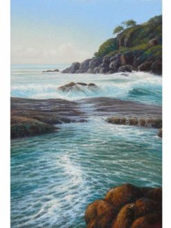 Kerry Nobbs   Ocean Series Rocky Bay Fine Art