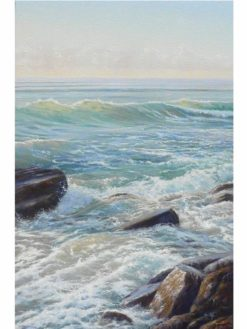 Kerry Nobbs   Ocean Series Swell Lines Fine Art