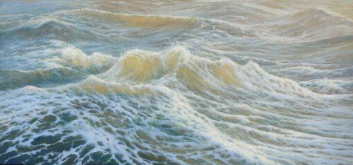 Kerry Nobbs Ocean Series Turbulant Painting