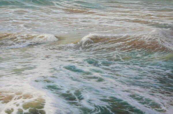 Kerry Nobbs Ocean Series Whitewash Painting