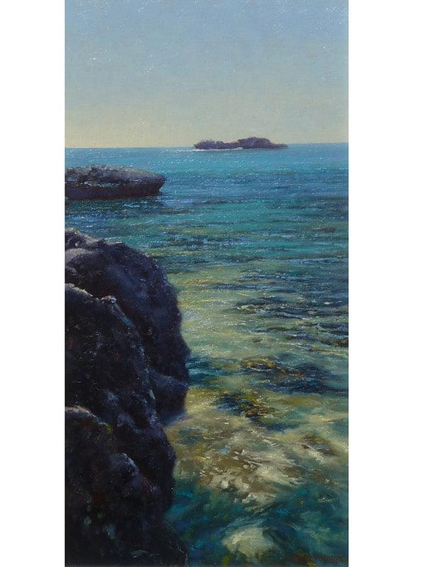 Kerry Nobbs Rottnest Reef Painting