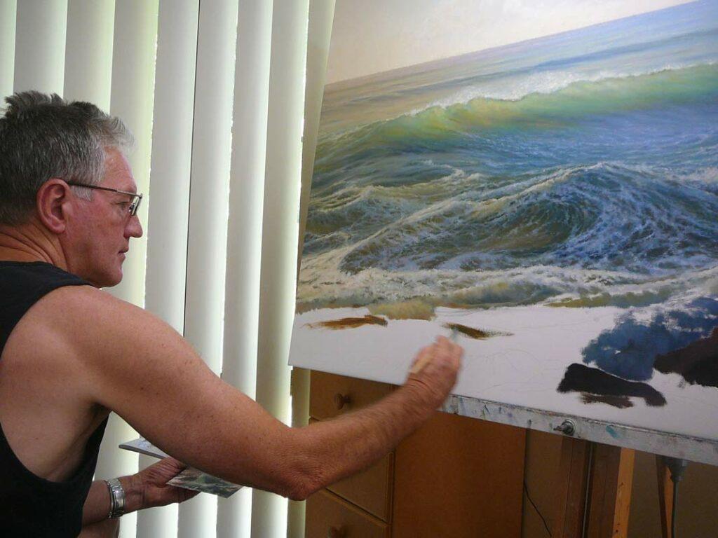 Kerry Nobbs Artist   Up Close & Personal Fine Art