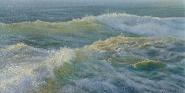 Kerry Nobbs White Water Wash Painting